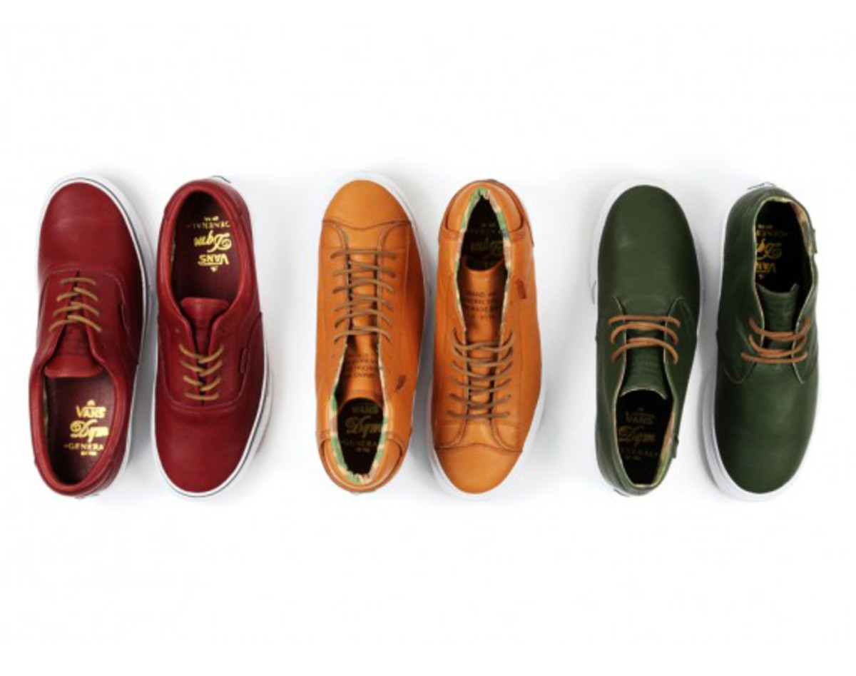 The VANS DQM General   First Footwear Collection