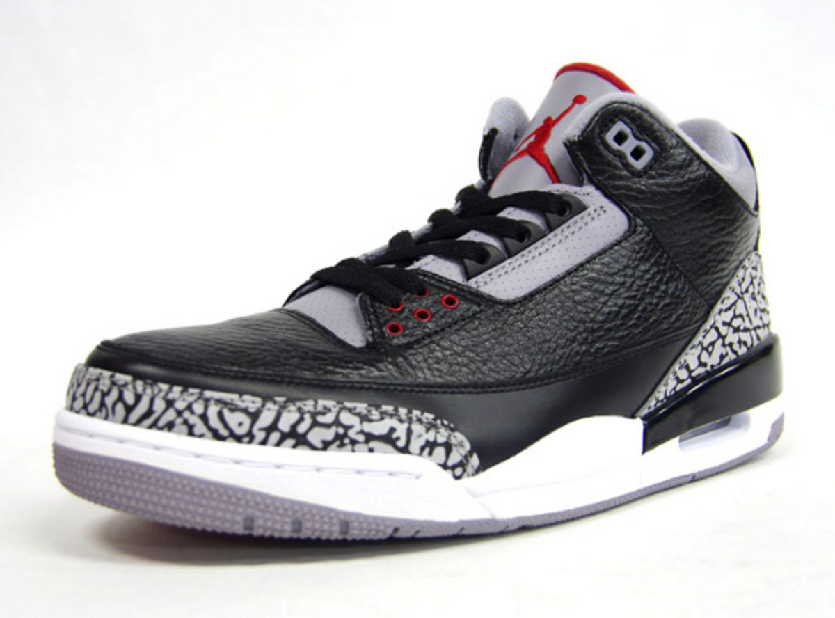 Air Jordan III Black Cement – Available Early In Asia - Freshness Mag 11ad1ab81