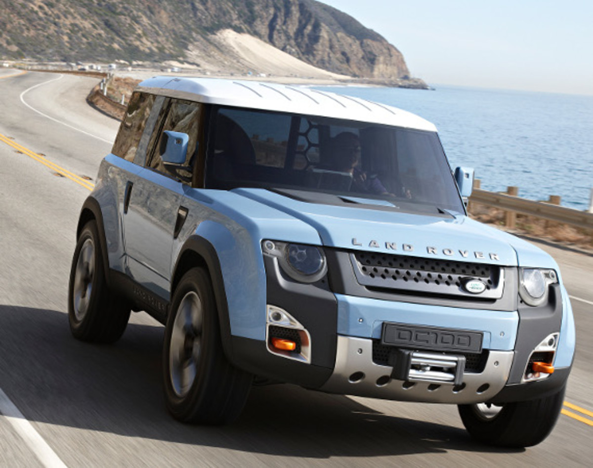 How To Measure Wheel Base >> Land Rover Defender Concept - DC100 - Freshness Mag
