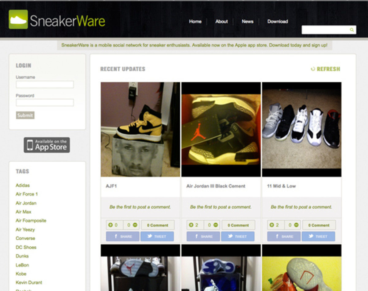 sneakerware-website