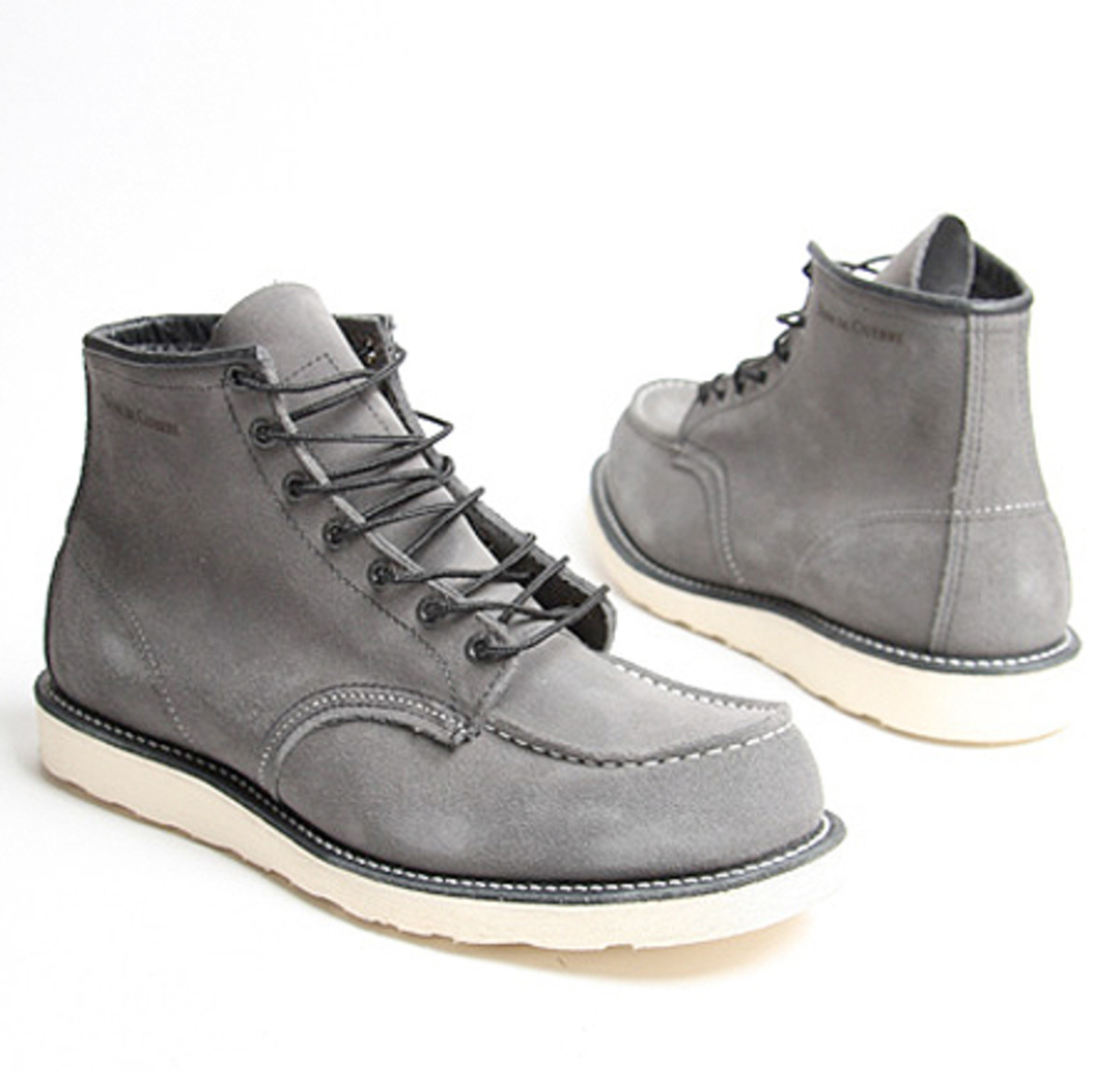 Red Wing Shoes Company x Nom De Guerre - Trench Protection Boots   Available @ oki-ni