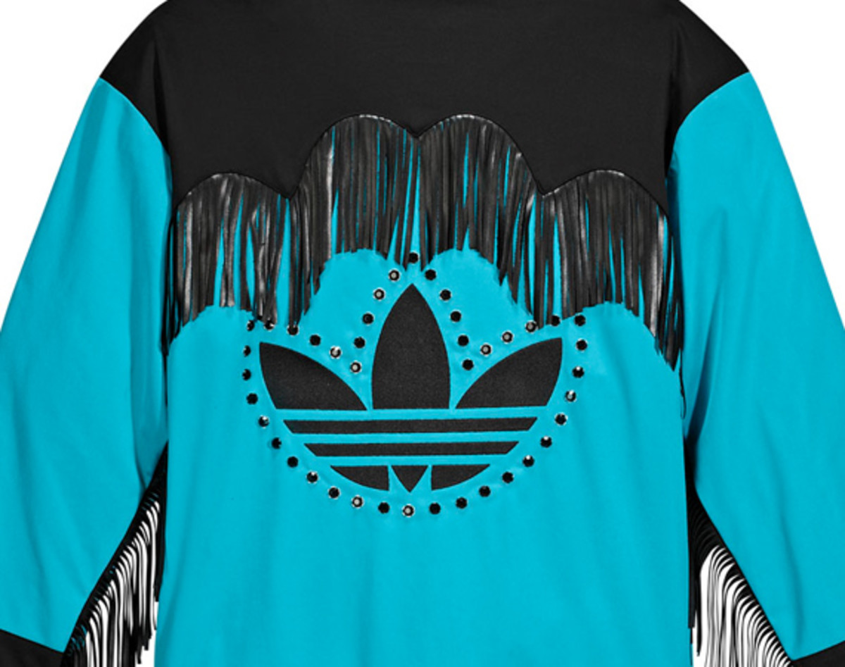 1910c1f40e01 adidas Originals Jeremy Scott - JS Fringed Track Top + Track Pants ...