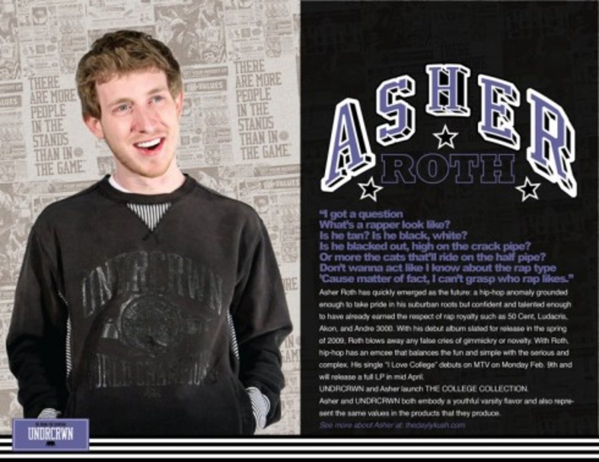 UNDRCRWN x Asher Roth - The College Collection - 1