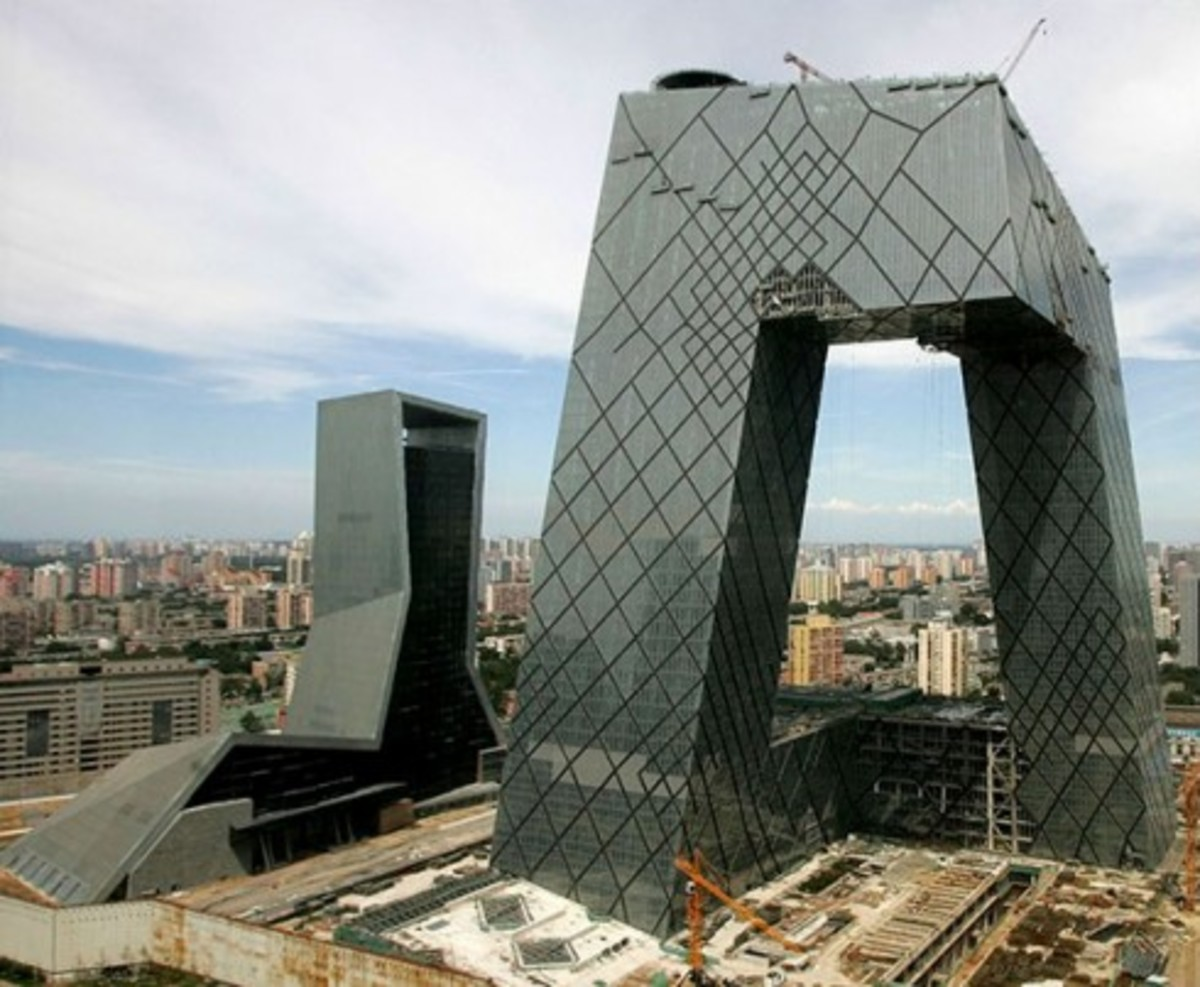 Rem Koolhaas - CCTV Television Cultural Center Damaged By Fire
