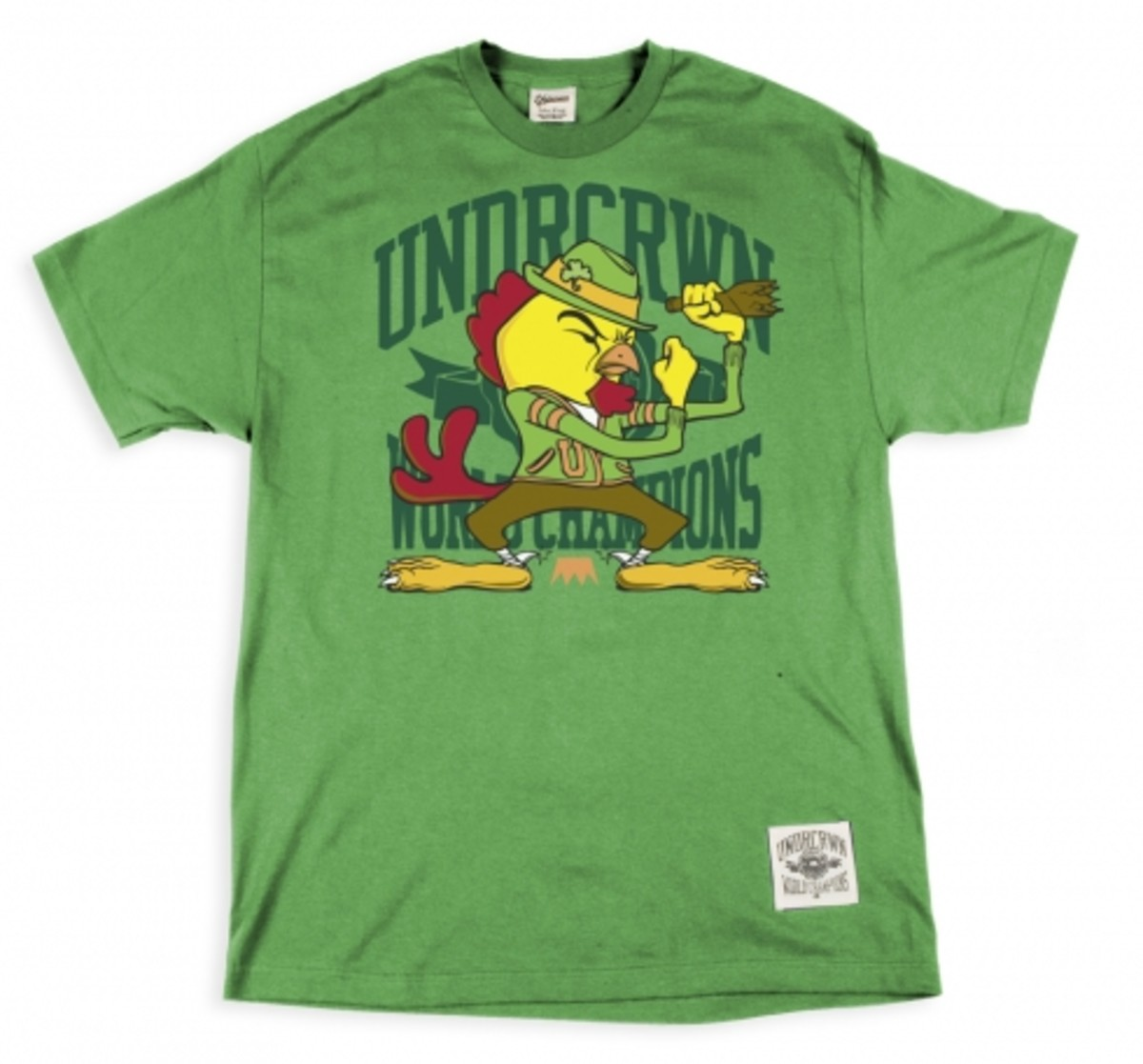 UNDRCRWN - Fighting Chicken Tee - 0
