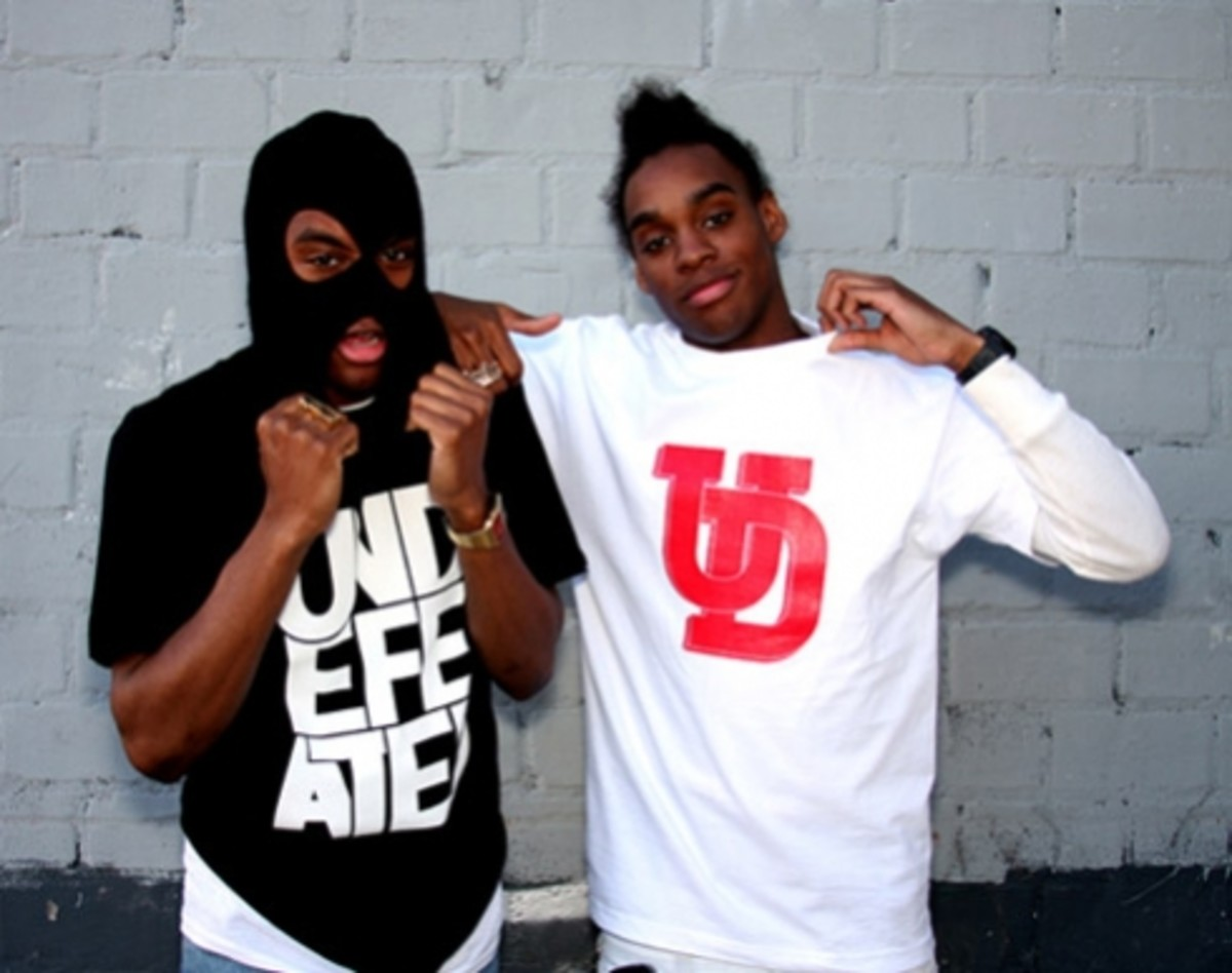 UNDEFEATED (UNDFTD) x MASTERPIECE - Collaboration T-Shirts featuring The Twins Dee & Ricky