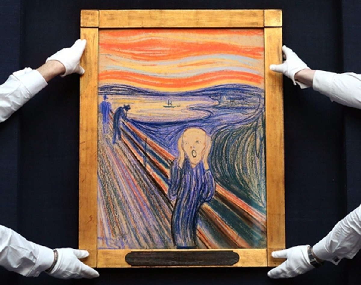 """Edvard Munch """"The Scream"""" Painting Sets A New Record ..."""