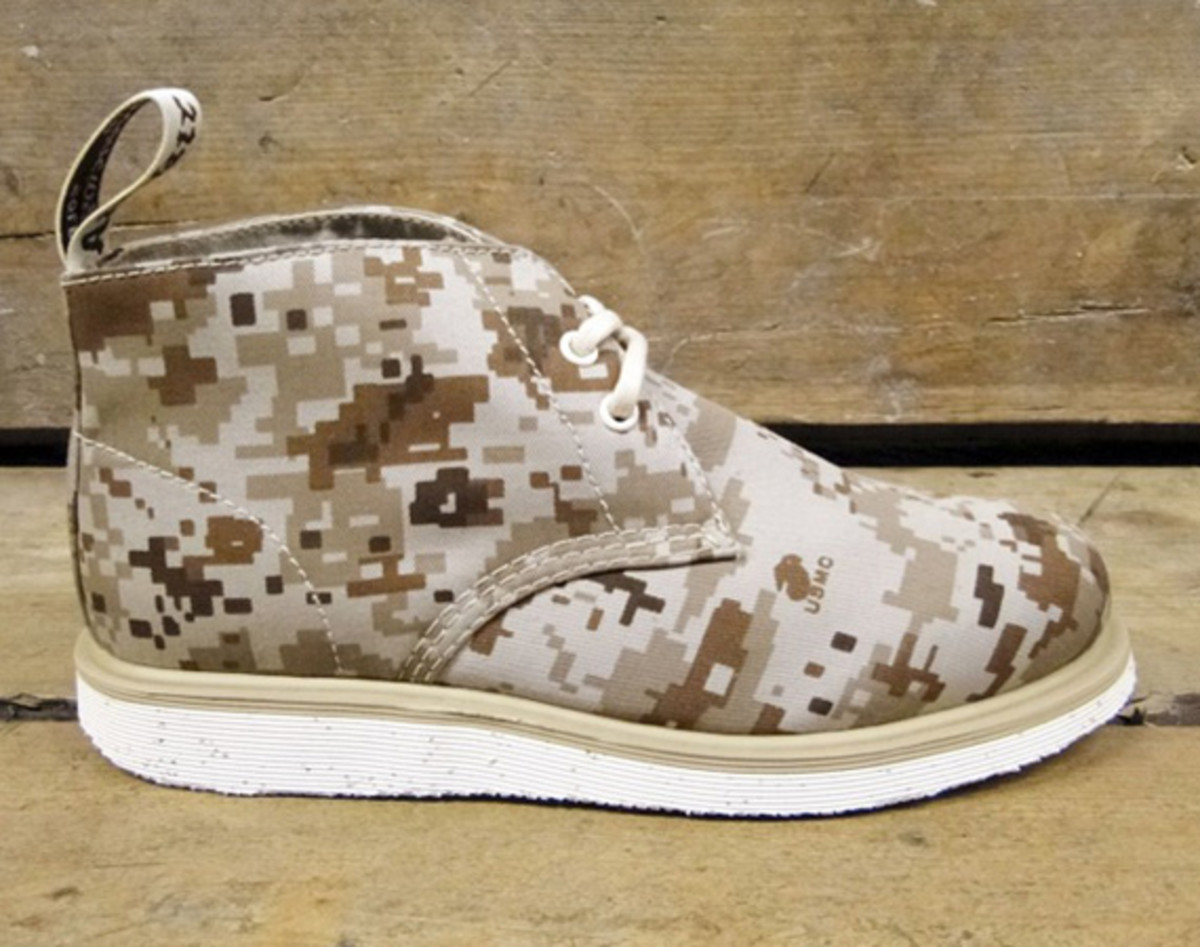 British Millerain x Dr. Martens Camo Wedge Collection | Foot Patrol Exclusive