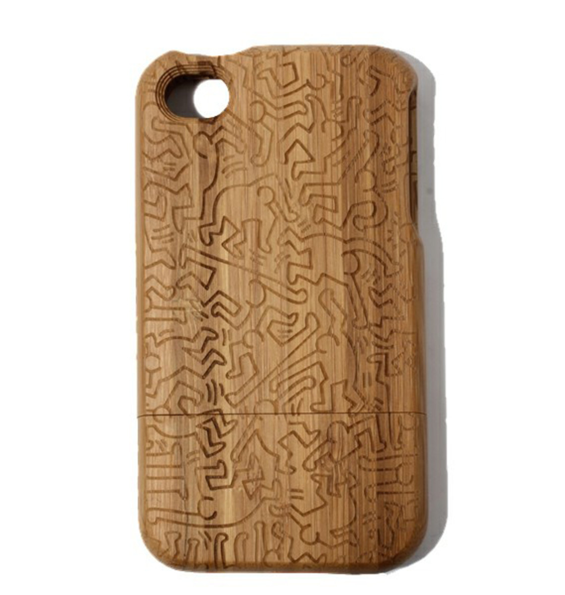 keith-haring-colors-iphone-4-bamboo-case-01
