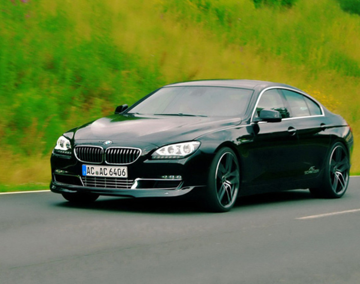 bmw 6 series gran coupe by ac schnitzer freshness mag. Black Bedroom Furniture Sets. Home Design Ideas