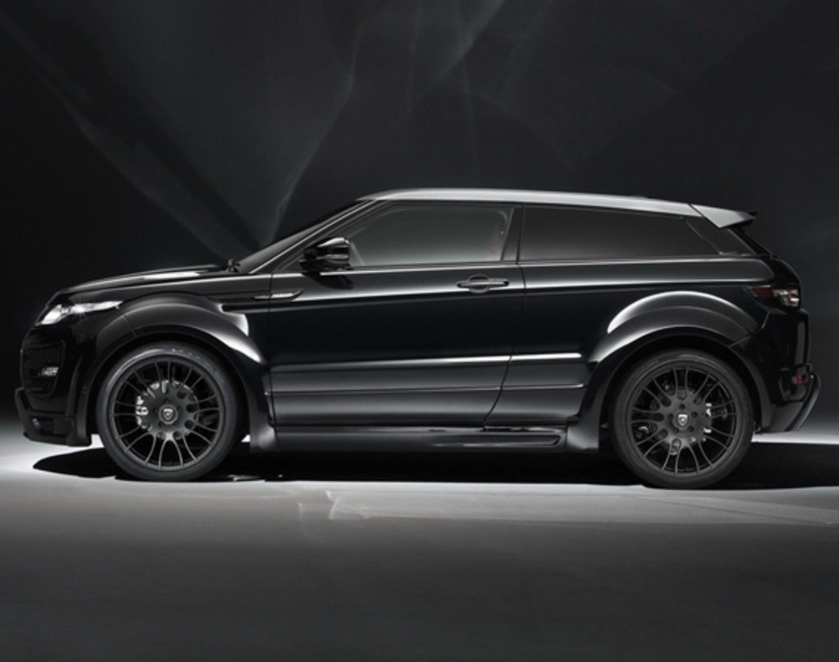 range rover evoque coupe tuned by hamann motorsport freshness mag. Black Bedroom Furniture Sets. Home Design Ideas