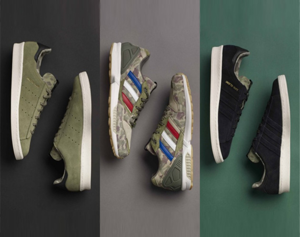 official photos 805a8 c3555 BAPE x UNDFTD x adidas Originals Consortium Collection  Release Info
