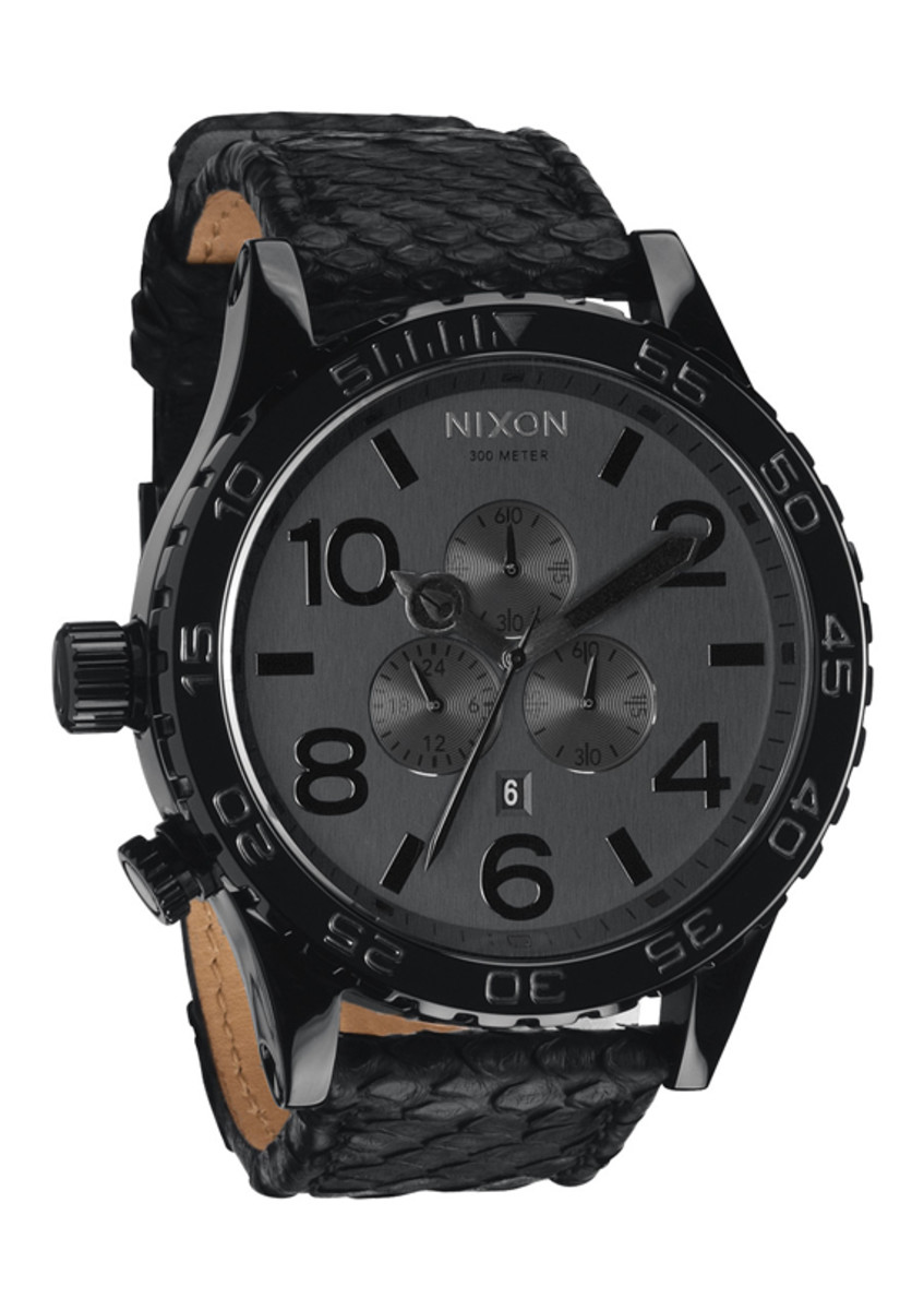 nixon-51-30-chrono-leather-black-snake-01
