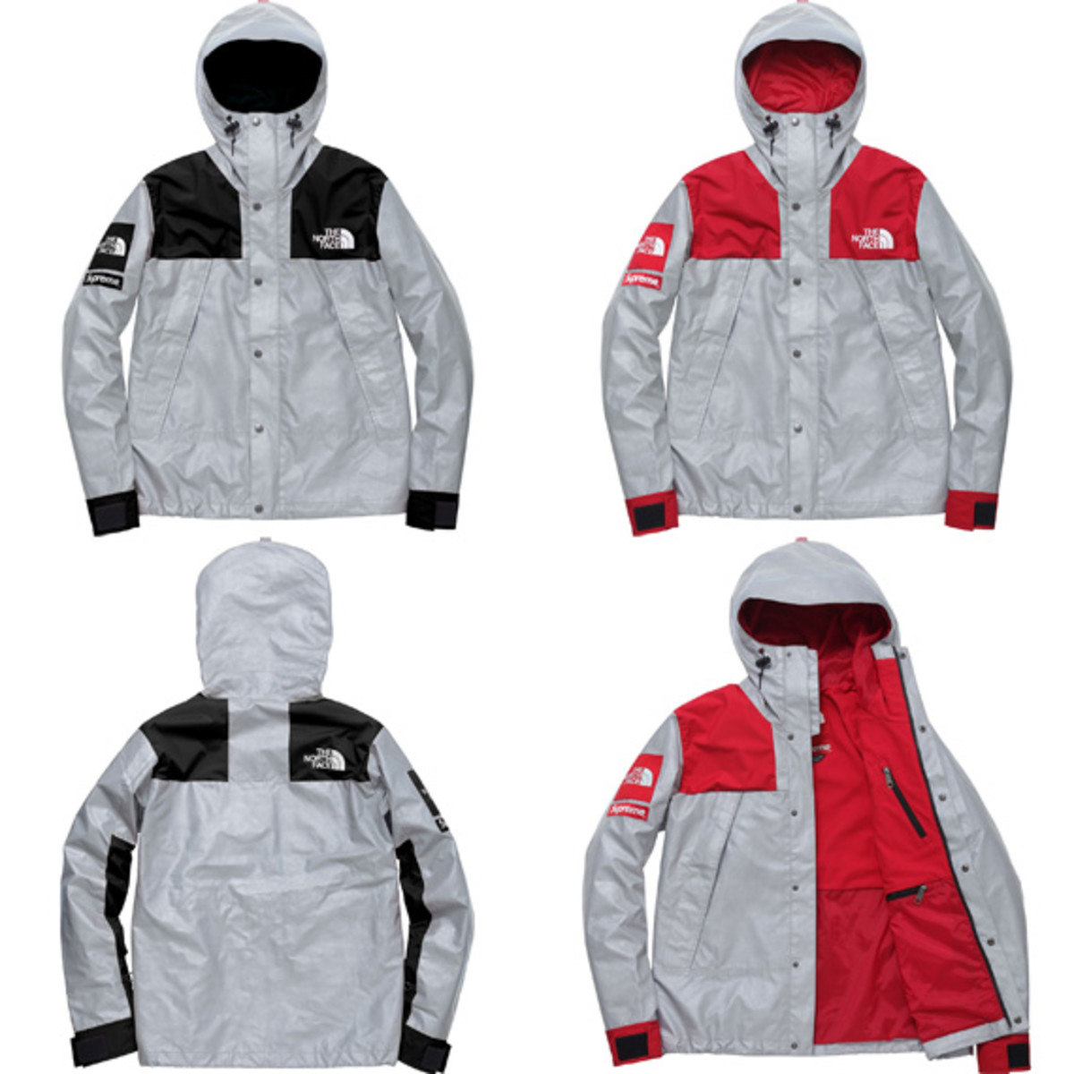 """2be8d643cd26 The North Face x Supreme – Spring 2013 """"3M Reflective"""" Collection ..."""