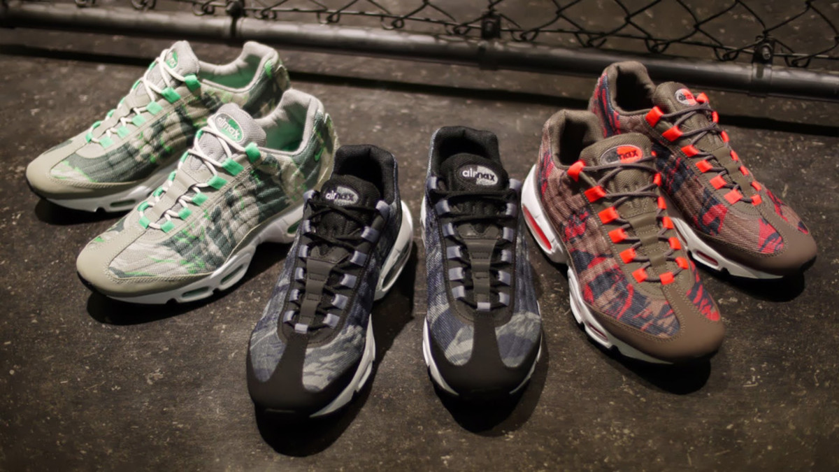 best cheap 16e24 8f090 Nike Air Max 95 Premium Tape - Camouflage Pack - Freshness M