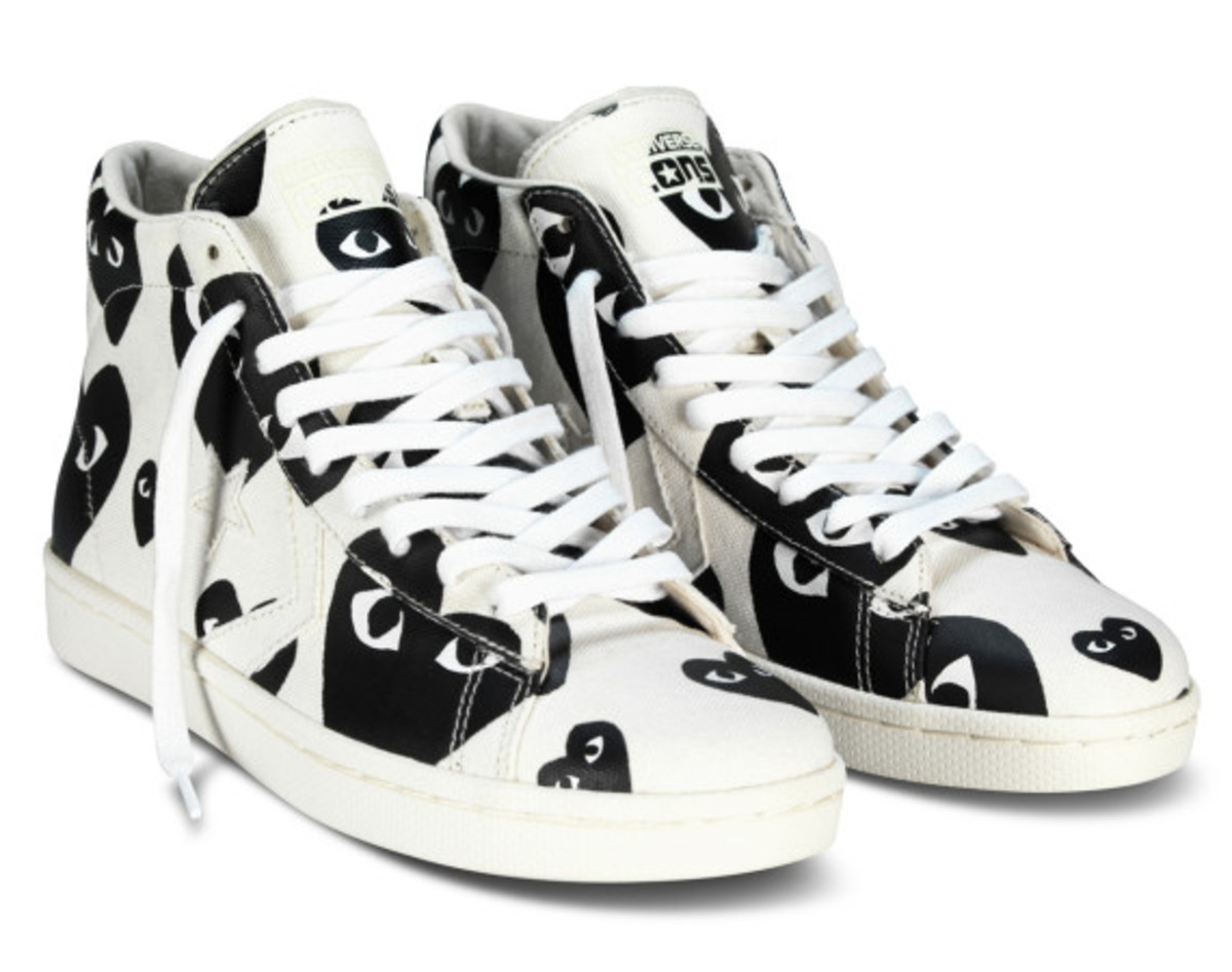 COMME des GARÇONS PLAY x CONVERSE Pro Leather Collection ...