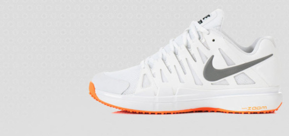 c63990487683 You can get your Wimbledon on at your local grass court now by visiting  Nikes online Nike Vapor 9 - Flame Collection Nike Tennis ...