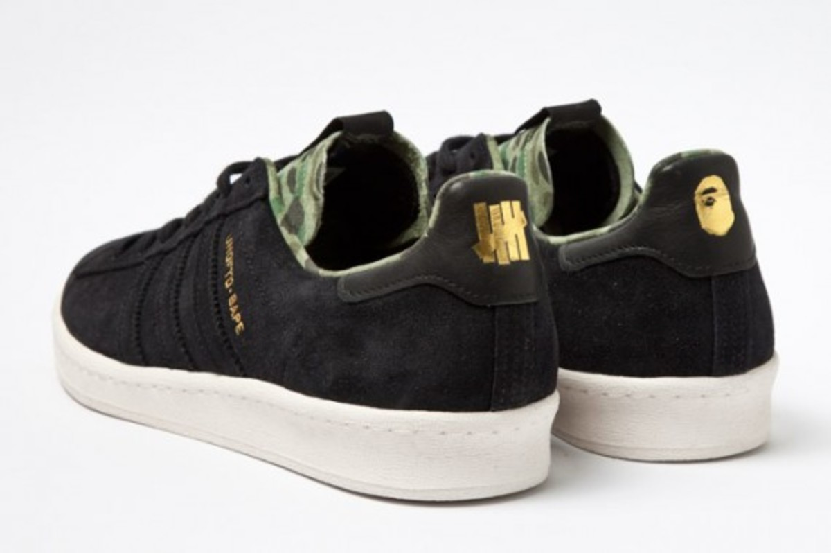 online store 83774 b2cf2 Release Date October 26th, 2012 (Friday) adidas Campus 80s UNDFTD x Bape ...