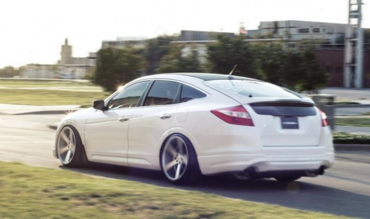 Honda Crosstour Custom By Vossen Freshness Mag