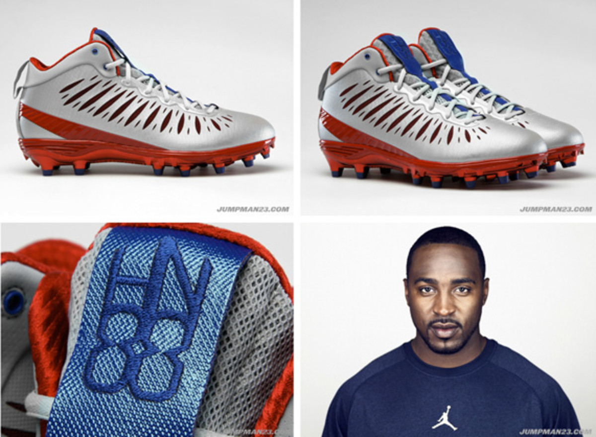 1d98c6de6c3 Jordan Super.Fly Cleats P.E. - Hakeem Nicks Edition - Freshness Mag