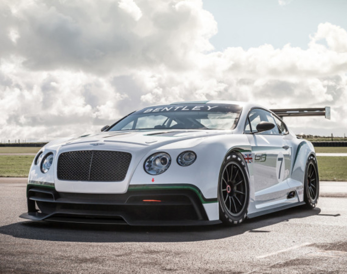 Bentley Continental GT3 Race Car - Officially Unveiled - 0