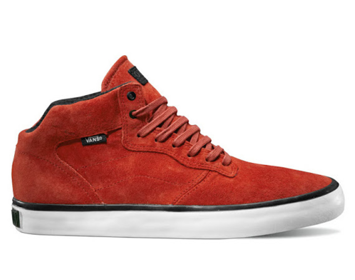 For Holiday 2012 the VANS OTW Piercy is set to drop in a quartet of new  colorways 73e62c9d4a