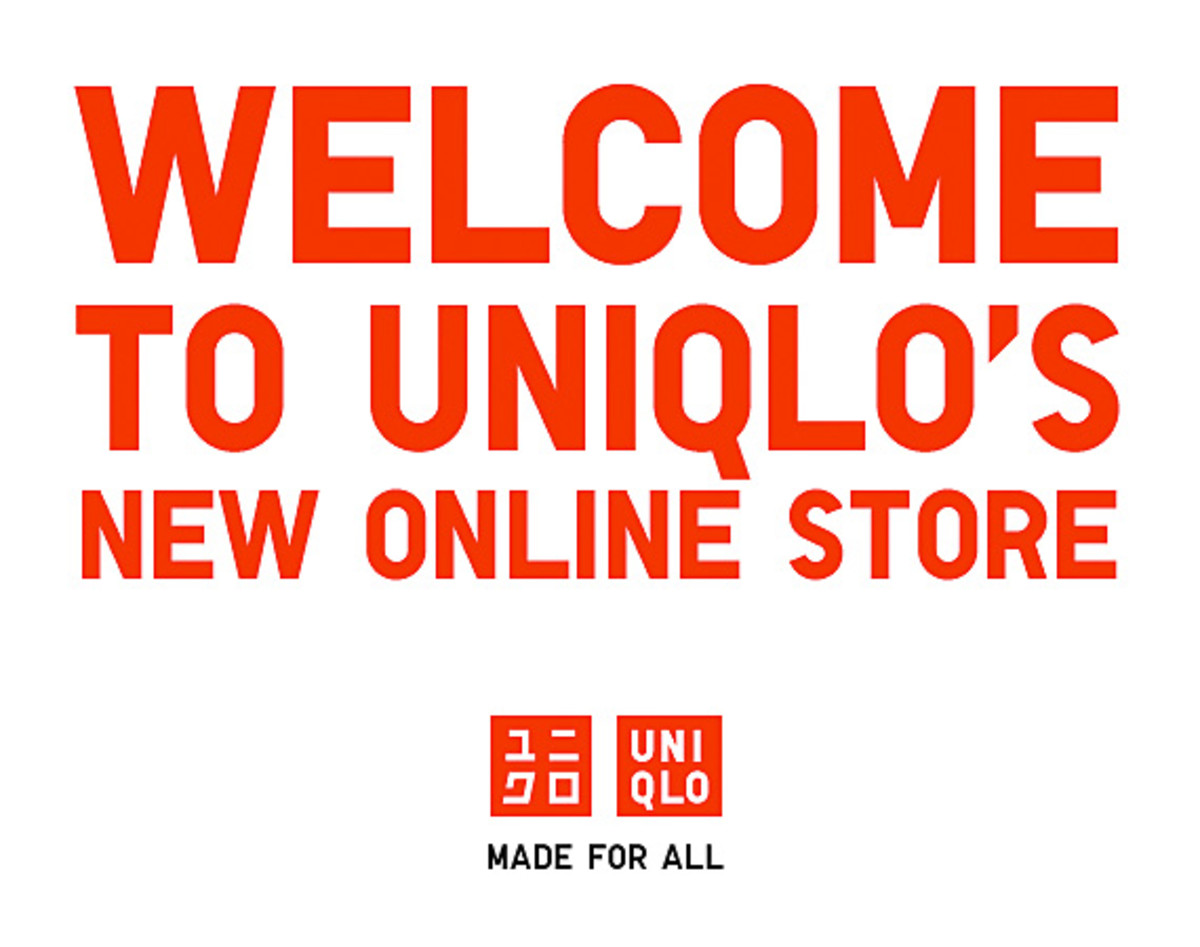 uniqlo usa online store officially opens freshness mag. Black Bedroom Furniture Sets. Home Design Ideas