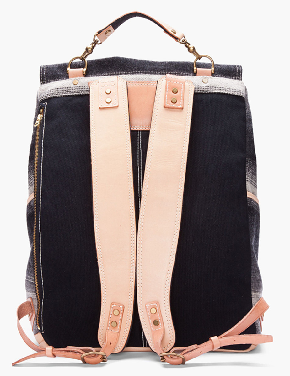 master-piece-woolrich-gray-striped-backpack-03