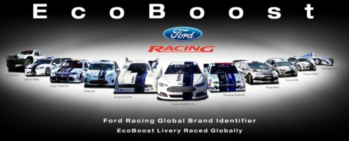Ford EcoBoost Global Racing Livery
