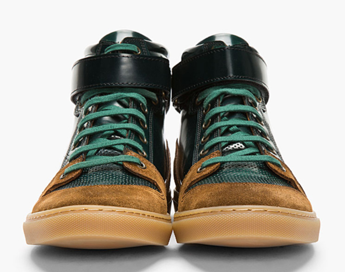 ami-dark-green-suede-trimmed-high-top-sneakers-01