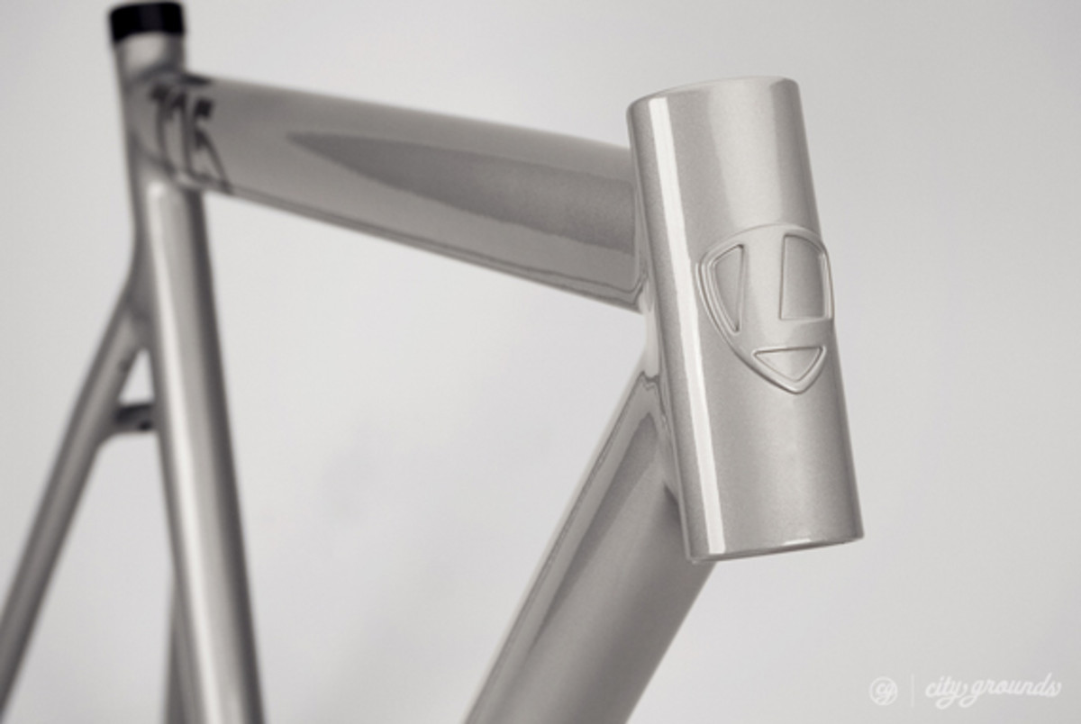 City Grounds x Leader - 2013 725 Mid LTD Fixed Gear Frame ...