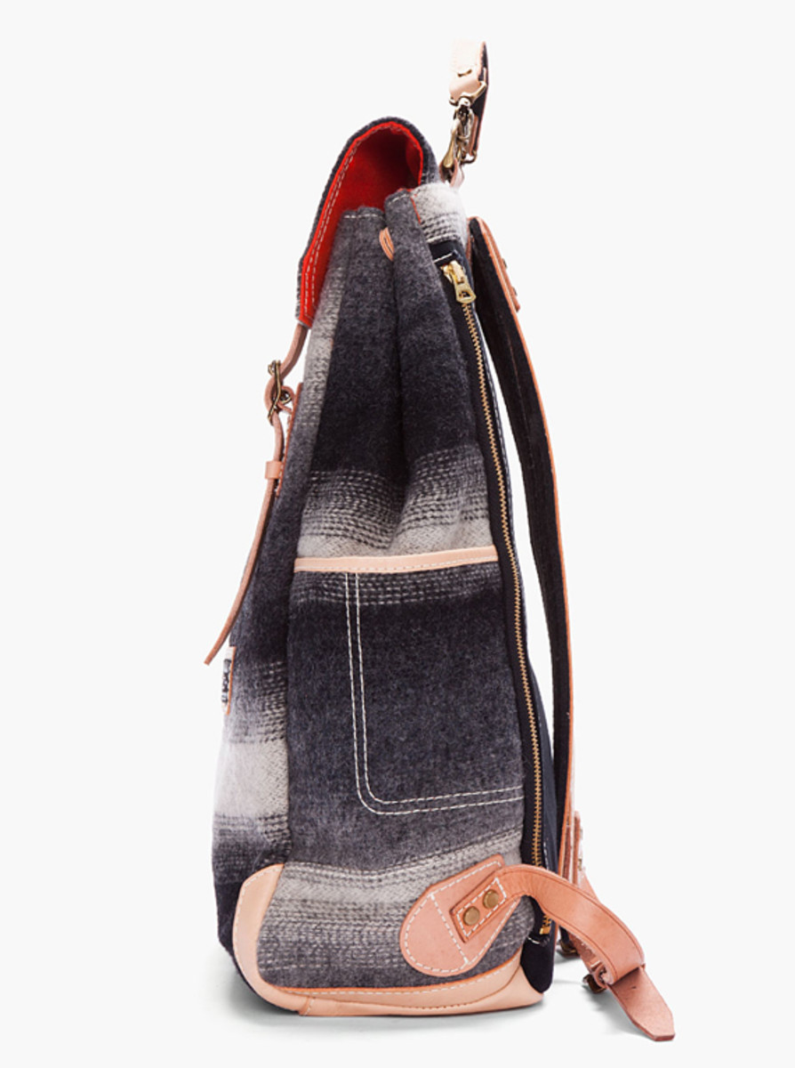 master-piece-woolrich-gray-striped-backpack-02