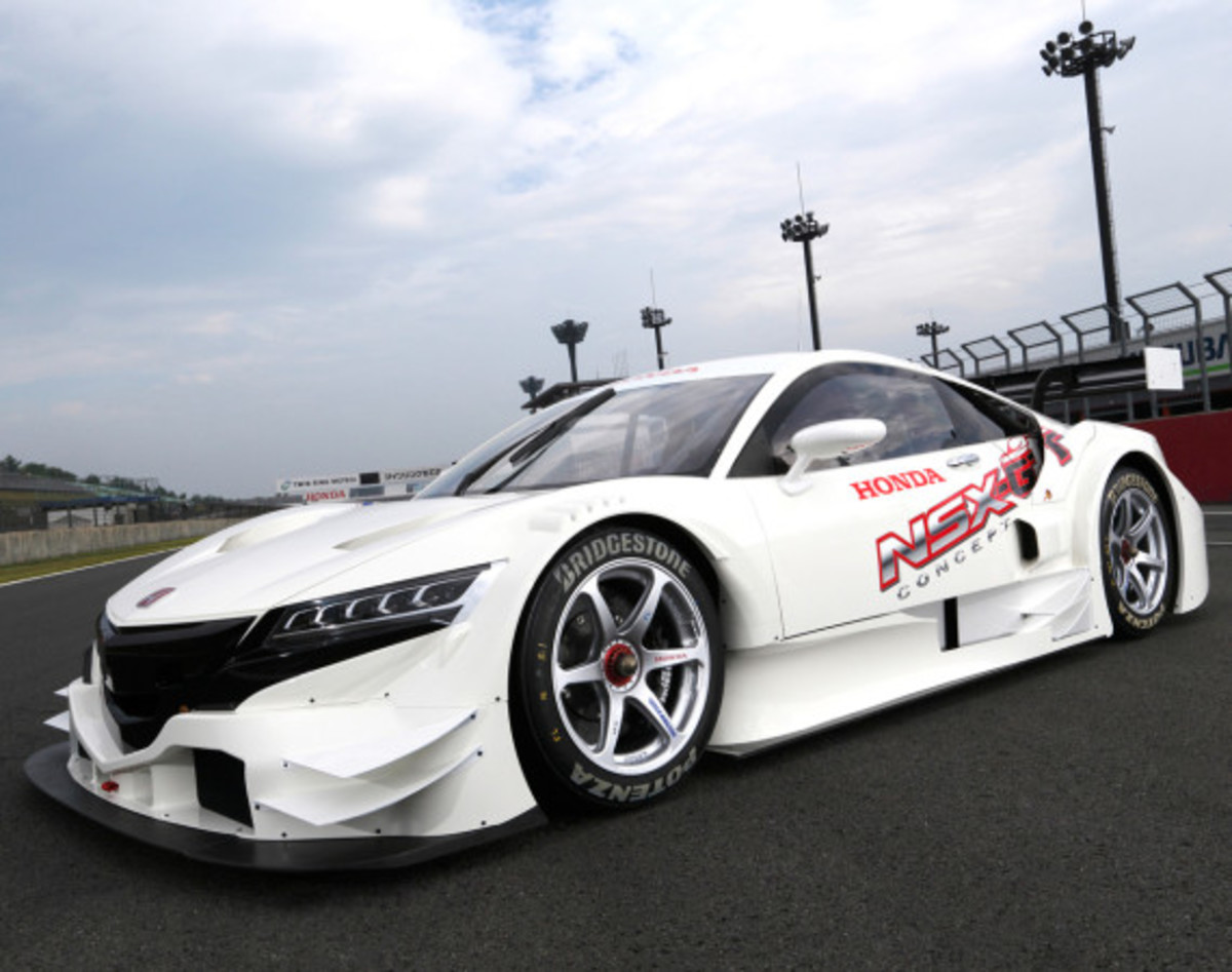 Honda NSX Concept GT   New Entry To GT500 Class for 2014 Super GT Series