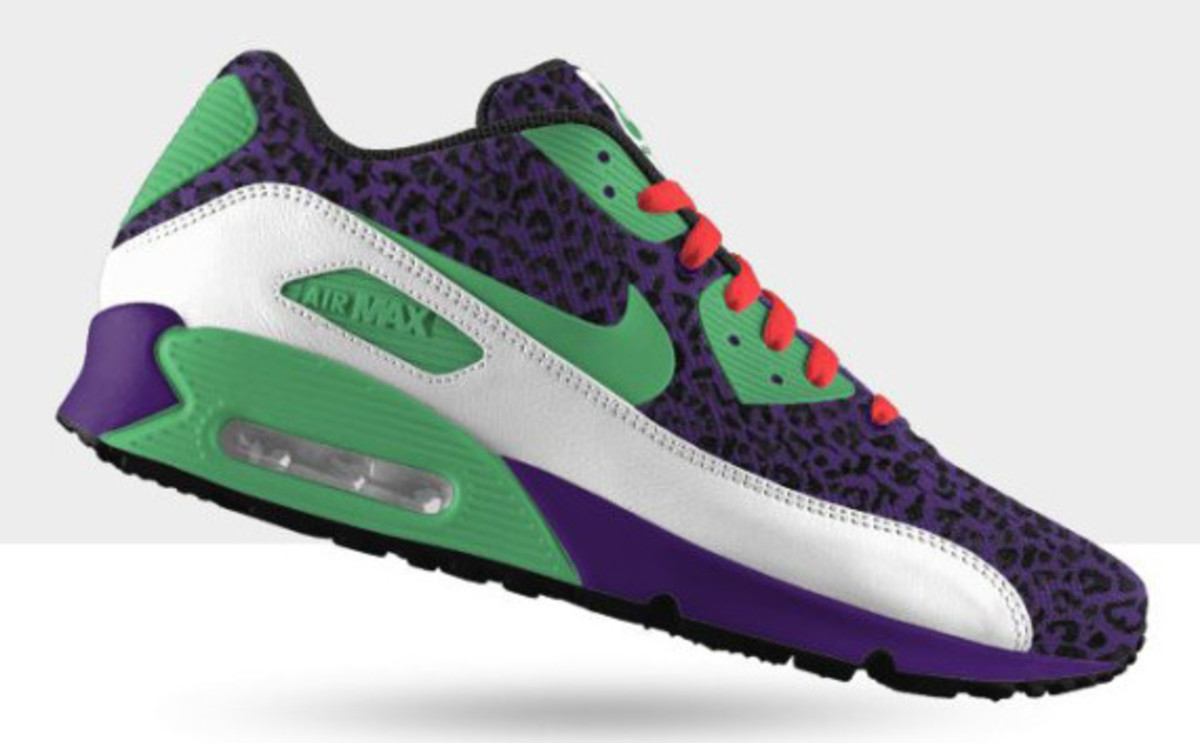 online store b5182 98f09 NIKEiD – Cheetah Print Option for Nike Air Max 90 iD   Available Now ...