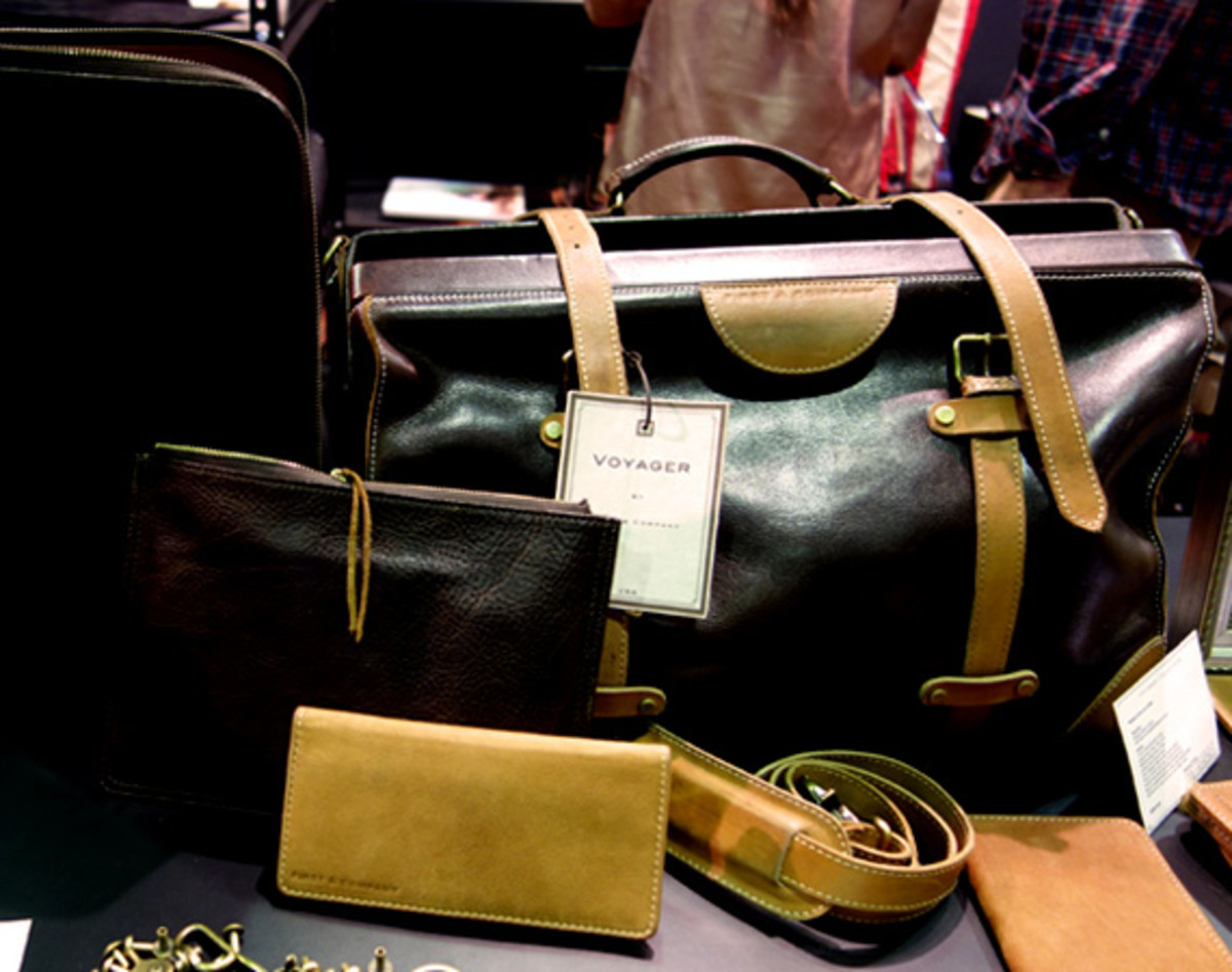 PROJECT Show New York  FIRST & COMPANY Leather Accessories Collection