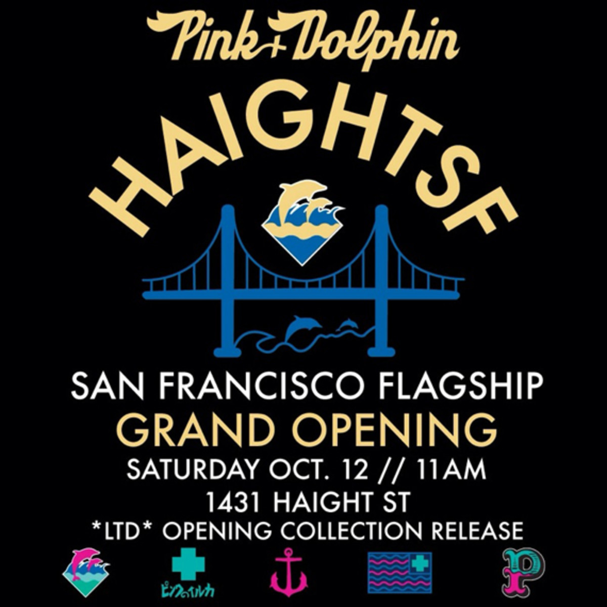 Pink + Dolphin San Francisco   Grand Opening Collection