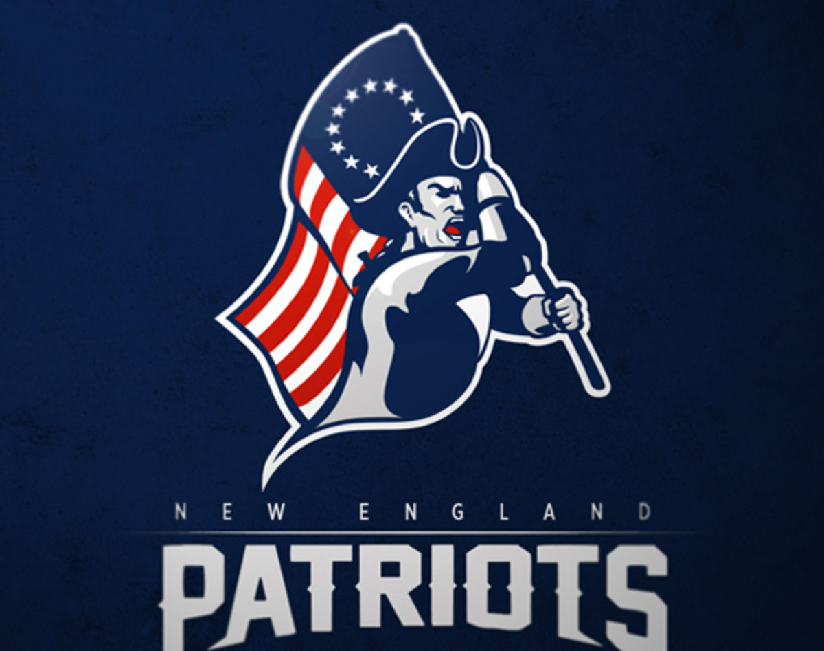 all 32 nfl team logos redesigned by max o�brien