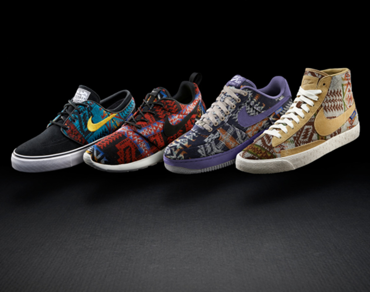 Pendleton Woolen Mills x NIKEiD Collection - Freshness Mag 18701b94d88