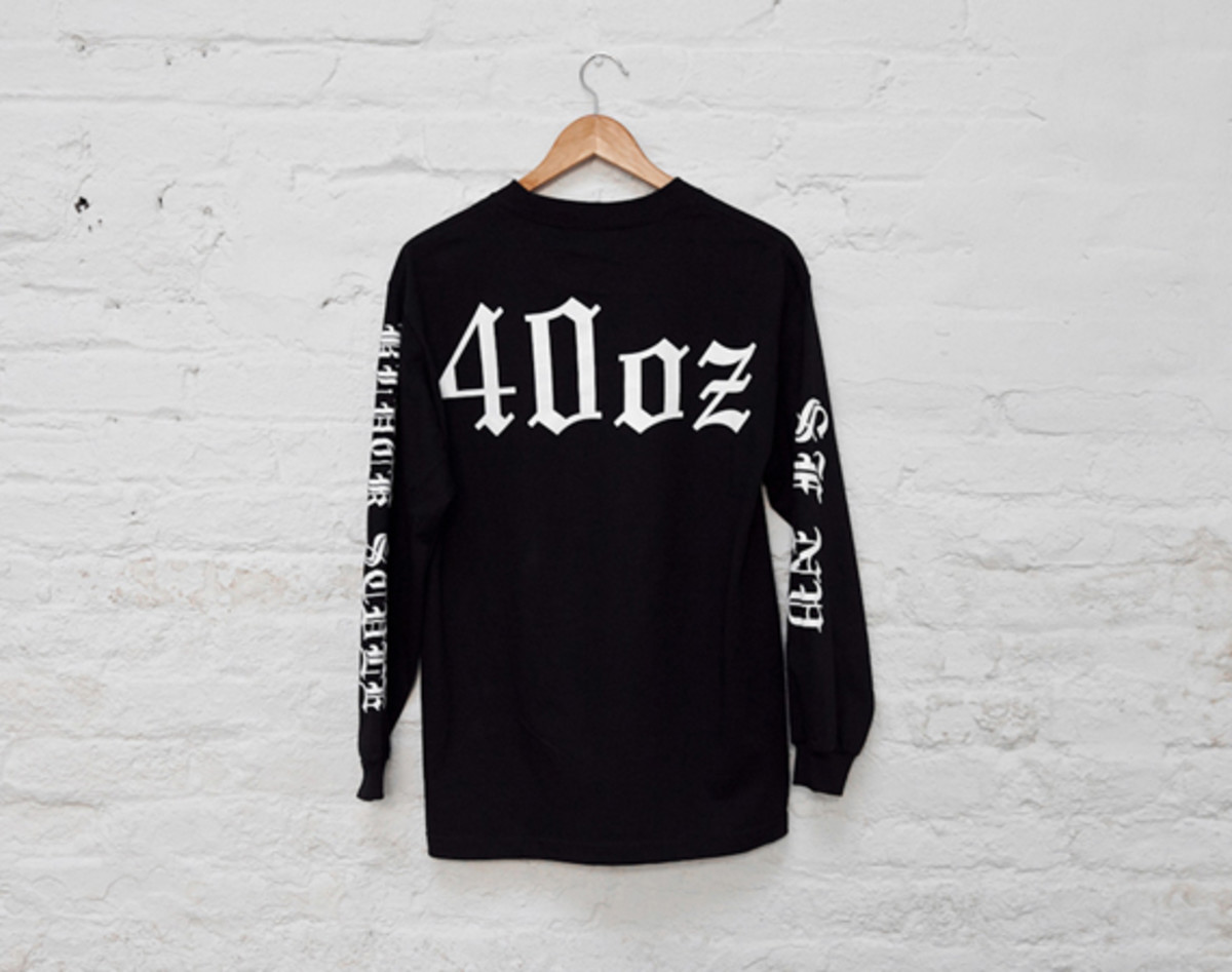 40oz NYC x Black Scale Collaboration