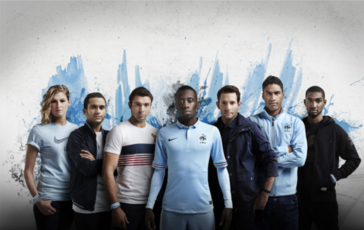 new product 29652 8fa43 Nike Soccer 2013-2014 France National Football Team Away Kit ...