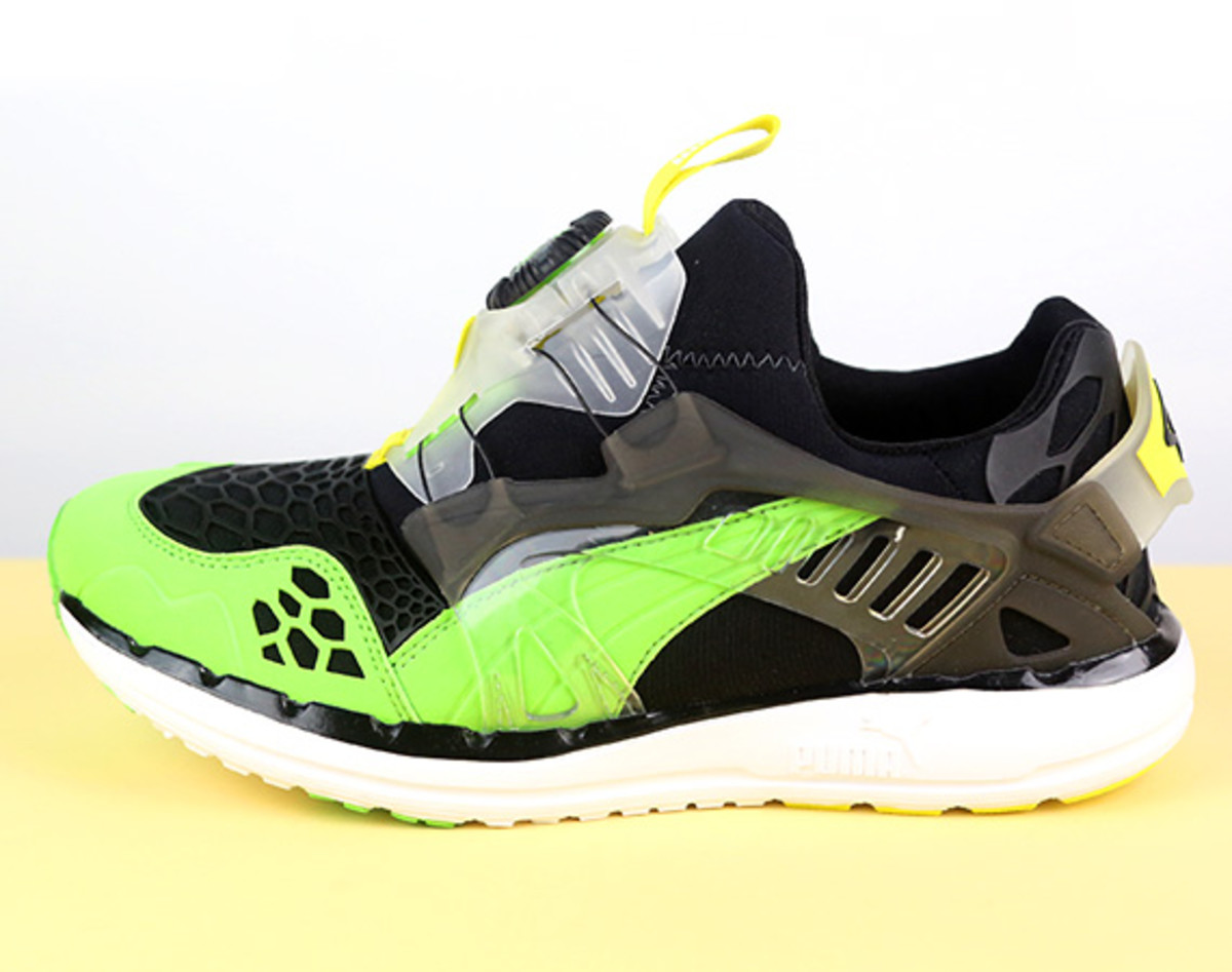 puma future disc blaze web black jasmine green. Black Bedroom Furniture Sets. Home Design Ideas