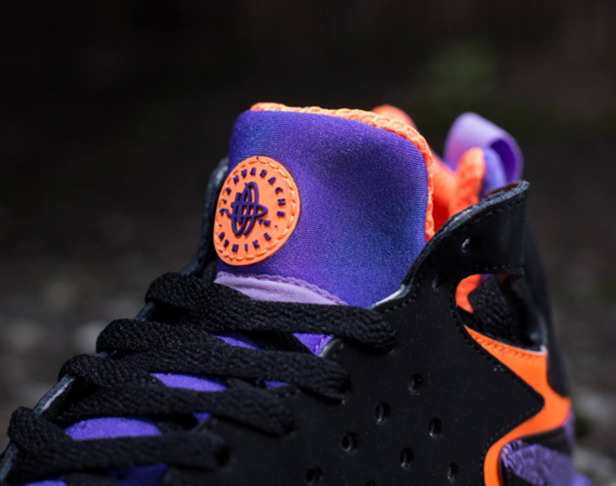 finest selection 4988d d3627 nike-air-tech-challenge-huarache-black-purple-orange-