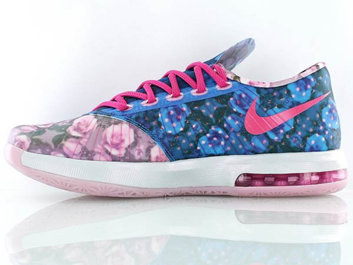 Nike KD 6 Floral - Aunt Pearl - Freshness Mag