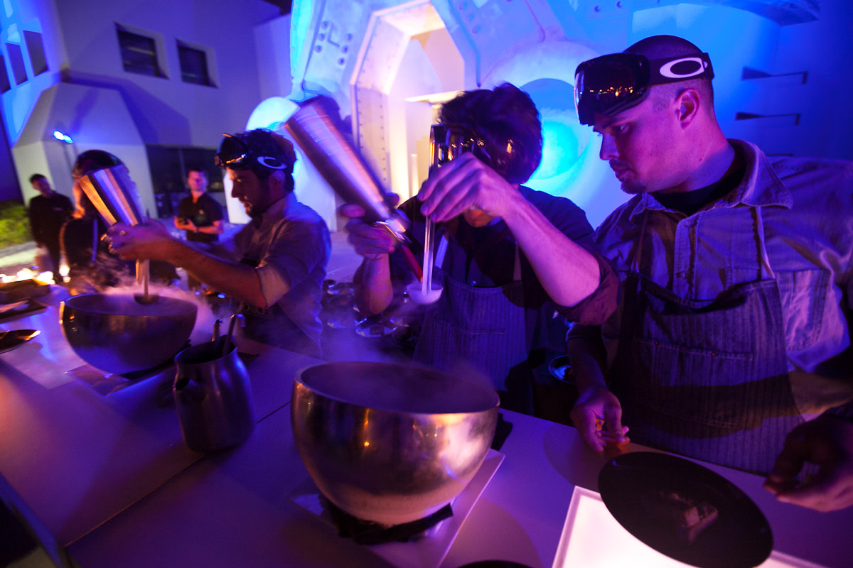 oakley-disruptive-by-design-event-dinner-at-one-icon-the-bunker-37