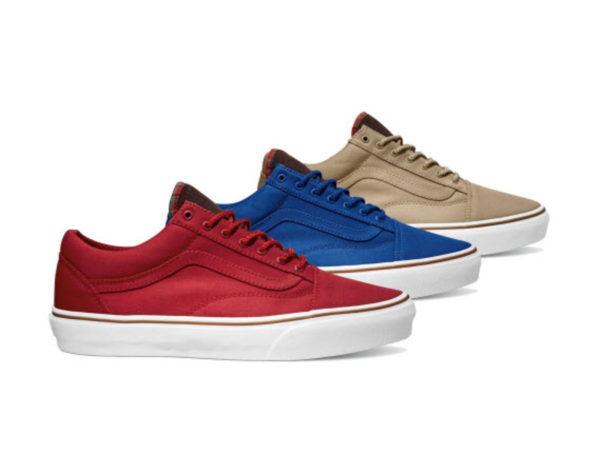 6a7d692961 The VANS Vault OG Old Skool LX is getting a pretty interesting release as  part of their Vansguard pack. The sneakers are cast in a tonal red