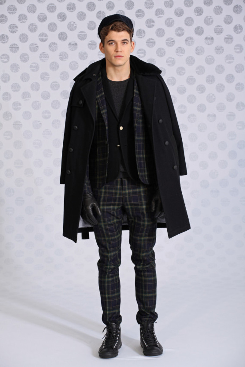 Band of Outsiders – Fall/Winter 2014 Collection Lookbook - 12