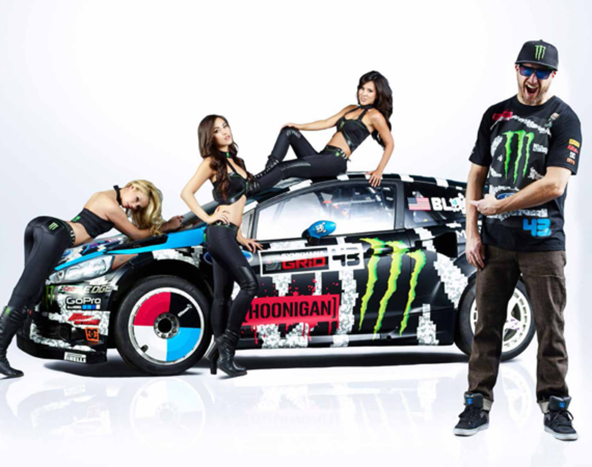 Ken Block S 2014 Ford Fiesta Racecar By Hoonigan Racing