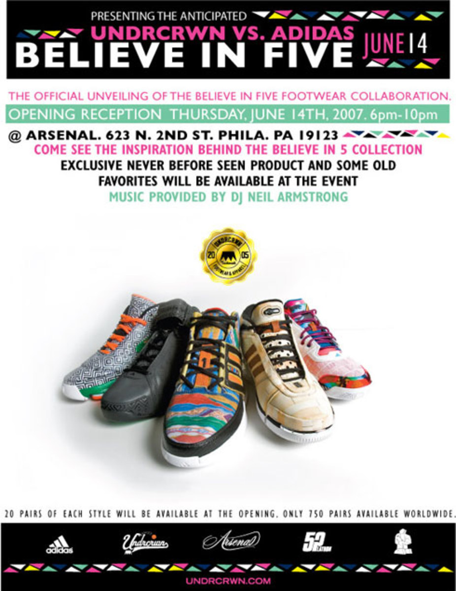 adidas x UNDRCRWN - It Takes 5IVE Party @ ARSENAL - 2