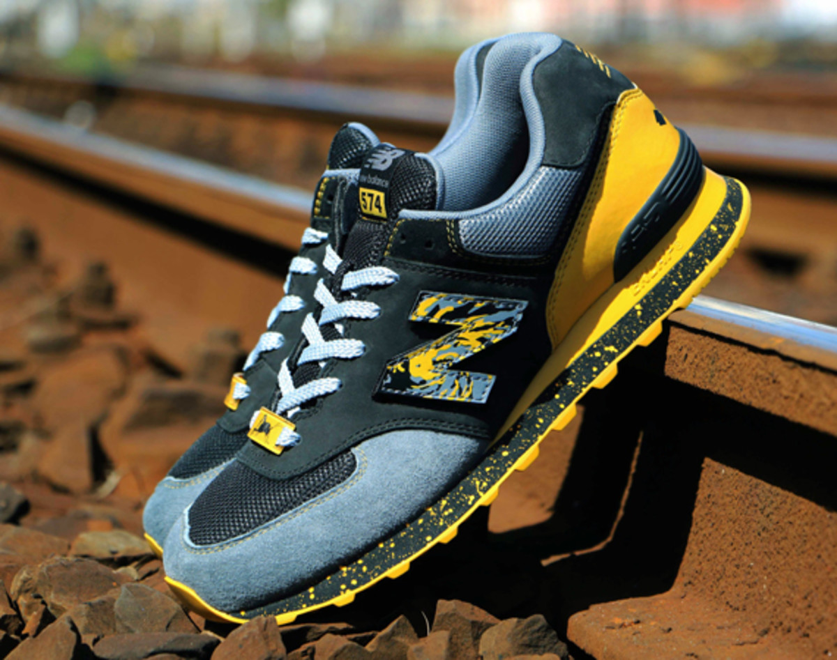 "New Balance x Shelflife x Dr.Z – ML574CG ""City of Gold ..."