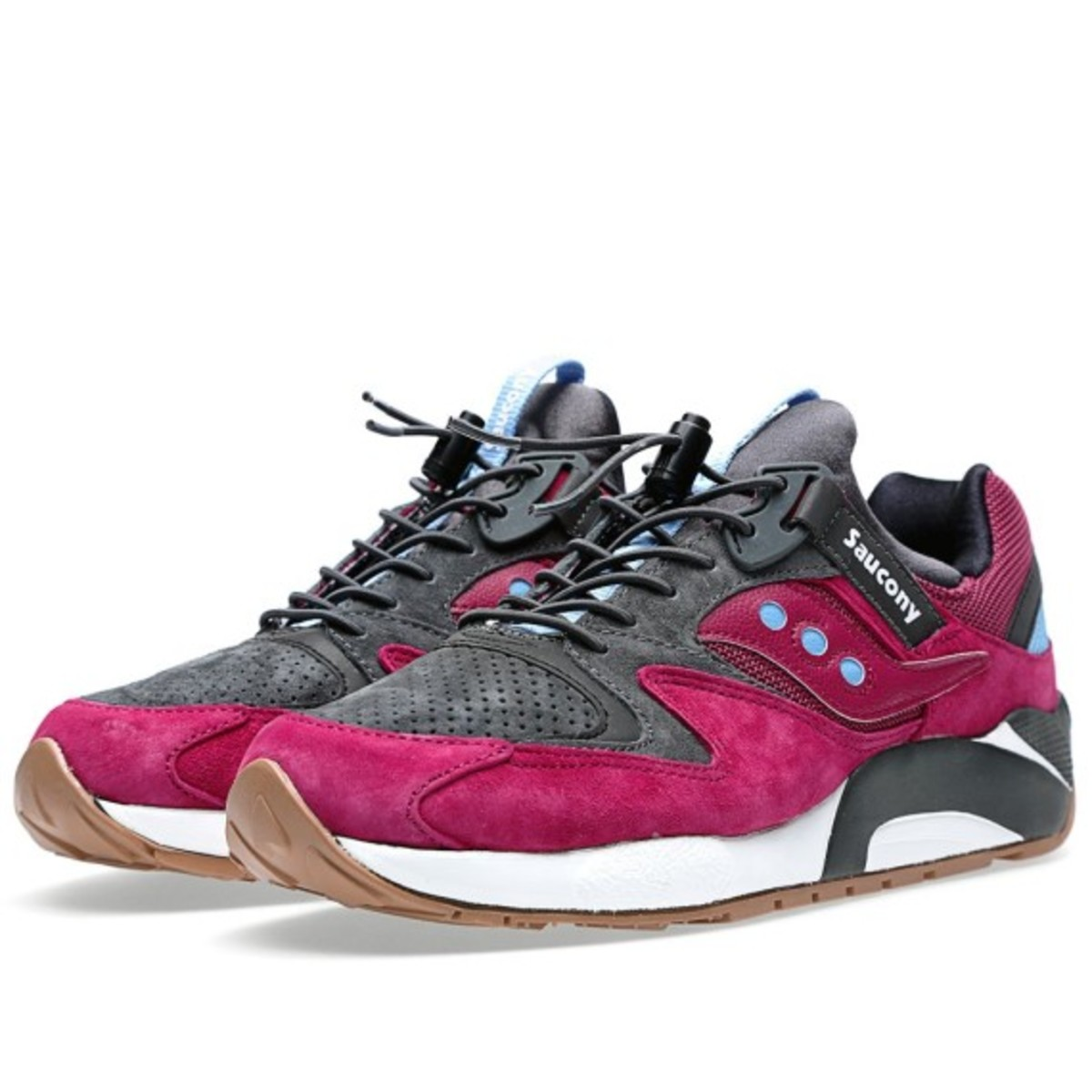 new arrival 07b72 c4459 Saucony Grid 9000 Premium - 3 Dots Pack - Freshness Mag